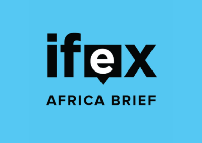 IFEX Africa Brief- World Press Freedom Day Special Edition